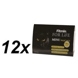 Fitmin For Life cat MENU meat mix 12 x 325g