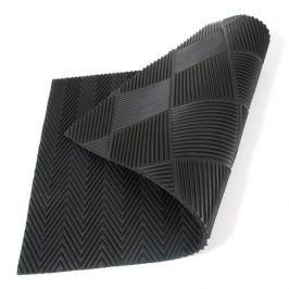 FLOMAT Gumová oboustranná vstupní rohož Double Side - 75 x 45 x 1 cm