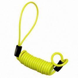 Abus memory cable ke kotoučovému zámku, žlutý