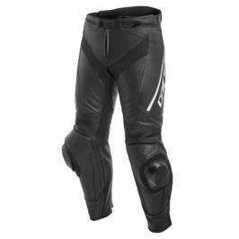 Dainese kalhoty DELTA 3 vel.46 černá/bílá, kůže