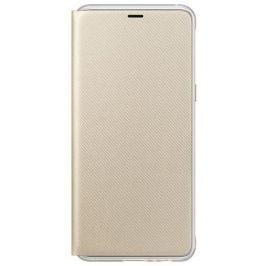 Samsung Flipové neonové pouzdro pro A8 2018, EF-FA530PFEGWW, Gold