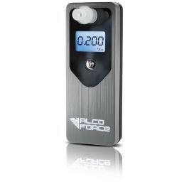 AlcoForce Osobní alkoholtestr MASTER, šedý, ekonomický model, kalibrace na 1 rok zdarma