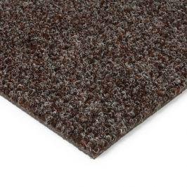 FLOMAT Hnědá kobercová vnitřní čistící zóna Catrine - 200 x 200 x 1,35 cm