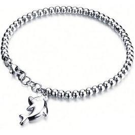 Troli Ocelový náramek Delfín