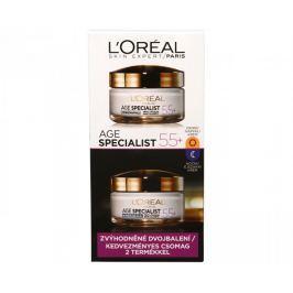 L'Oréal Sada denního a nočního krému proti vráskám Age Specialist 55+ 2 x 50 ml