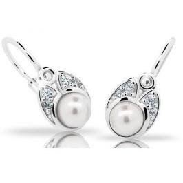 Cutie Jewellery Dětské náušnice C2254-10-C4-S-2 stříbro 925/1000