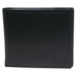 Lagen Pánská černá kožená peněženka Black W-8154-1