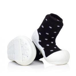 Attipas dětské botičky Urban Dot 19 černá/bílá