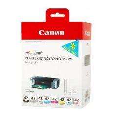 Canon CLI-42 Multi Pack - 8 inkoustů (6384B010), barevná