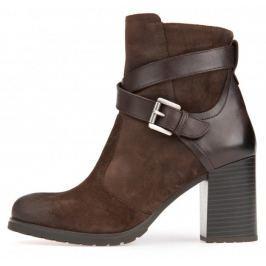 Geox dámská kotníčková obuv New Lise 37 hnědá