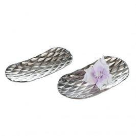 Papillon Dekorativní mísa hliníková Diamond, 39 cm