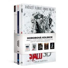 Hororová kolekce: Vřískot 4 + Stopy zmizelých + Vem si mou duši + Saw VII + Spolek nemilosrdných DVD