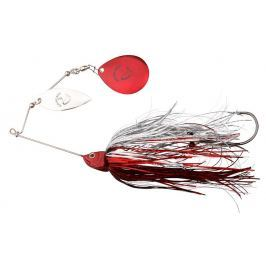 Savage Gear Třpytka Da'Bush Spinnerbait Red Silver Flash 16 cm