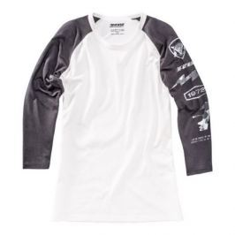 Dainese pánské triko (3/4 rukáv) THUNDER72 vel.M černá/bílá