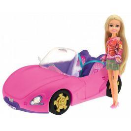 Alltoys Sparkle Girlz - Módní panenka se závodním autem