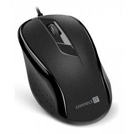 Connect IT optická myš, černá (CMO-1200-BK)