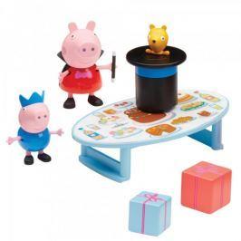 TM Toys Peppa Pig - sada kouzelník + 2 figurky