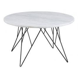 Design Scandinavia Konferenční stolek Stark, 80 cm, mramor