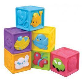 Teddies BABY Dětské pískací kostky 6ks