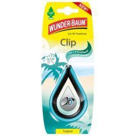WUNDER-BAUM Závěsný osvěžovač vzduchu, Clip - Tropical