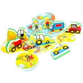Meadow Kids Puzzle do vany Stavba