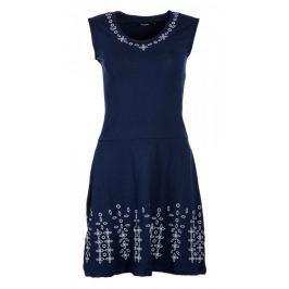 Desigual dámské šaty Fanny XS tmavě modrá