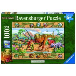 Ravensburger Dinosauři 100 dílků