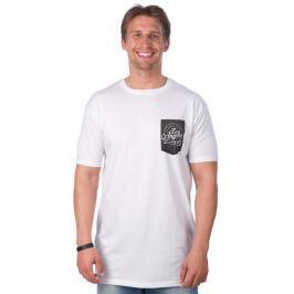Brave Soul pánské tričko Mash S bílá