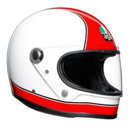 AGV přilba X3000 Super  červená/bílá vel.MS (56cm)