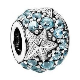 Pandora Stříbrný korálek Mořská hvězdice 791905CZF stříbro 925/1000