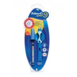 Pelikan Bombičkové pero pro praváky Griffix 4 modré