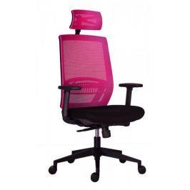Kancelářská židle Above vínovo-černá