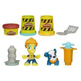 Play-Doh Town Silniční pracovník s mazlíčkem