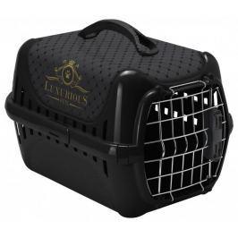 Magic cat Luxurious přepravka plast černá