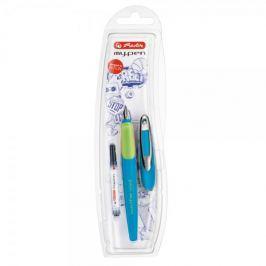 Herlitz Bombičkové pero my.pen-M, modro/zelené