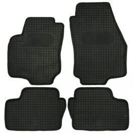 POLGUM Gumové koberce, sada 4 ks, černé, pro vozy Opel Astra a Zafira B