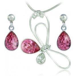 MHM Souprava šperků Debia Rose 34133 stříbro 925/1000