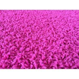 Kusový koberec Color Shaggy růžový, průměr 200 cm