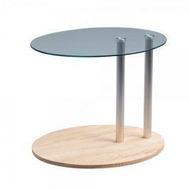 Artenat Konferenční / odkládací stolek na kolečkách Kira, 52 cm