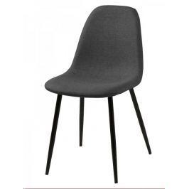 Design Scandinavia Jídelní židle Wanda (SET 4 ks), šedá