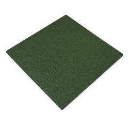 Zelená gumová dlaždice - 50 x 50 x 2,5 cm