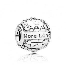Pandora Stříbrný korálek More Love 796602D stříbro 925/1000