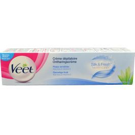 Veet Silk&Fresh Depilační krém pro citlivou pokožku 200 ml