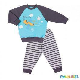 Ewa Klucze chlapecké pyžamo Little Moon 80 vícebarevná