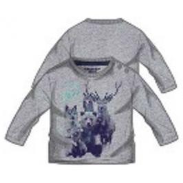 Primigi chlapecké tričko šedá 74