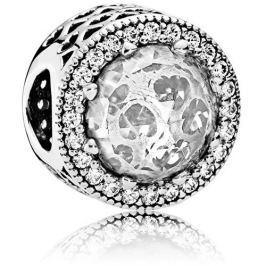 Pandora Luxusní čirý korálek 791725CZ stříbro 925/1000
