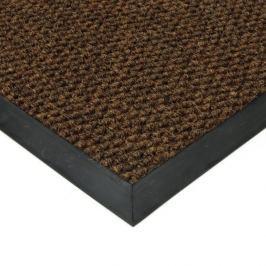 FLOMAT Hnědá textilní zátěžová vstupní čistící rohož Fiona - 50 x 90 x 1,1 cm