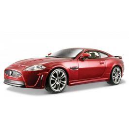 BBurago PLUS Jaguar XKR-S (1:24) - červený