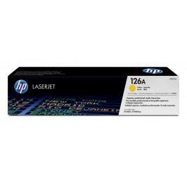 HP toner žlutý (CE312A) - II. jakost