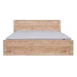 RAFLO, postel LOZ/160 bez roštu, ořech salev